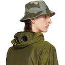 C.P. Company Grey and Khaki Camo Bucket Hat