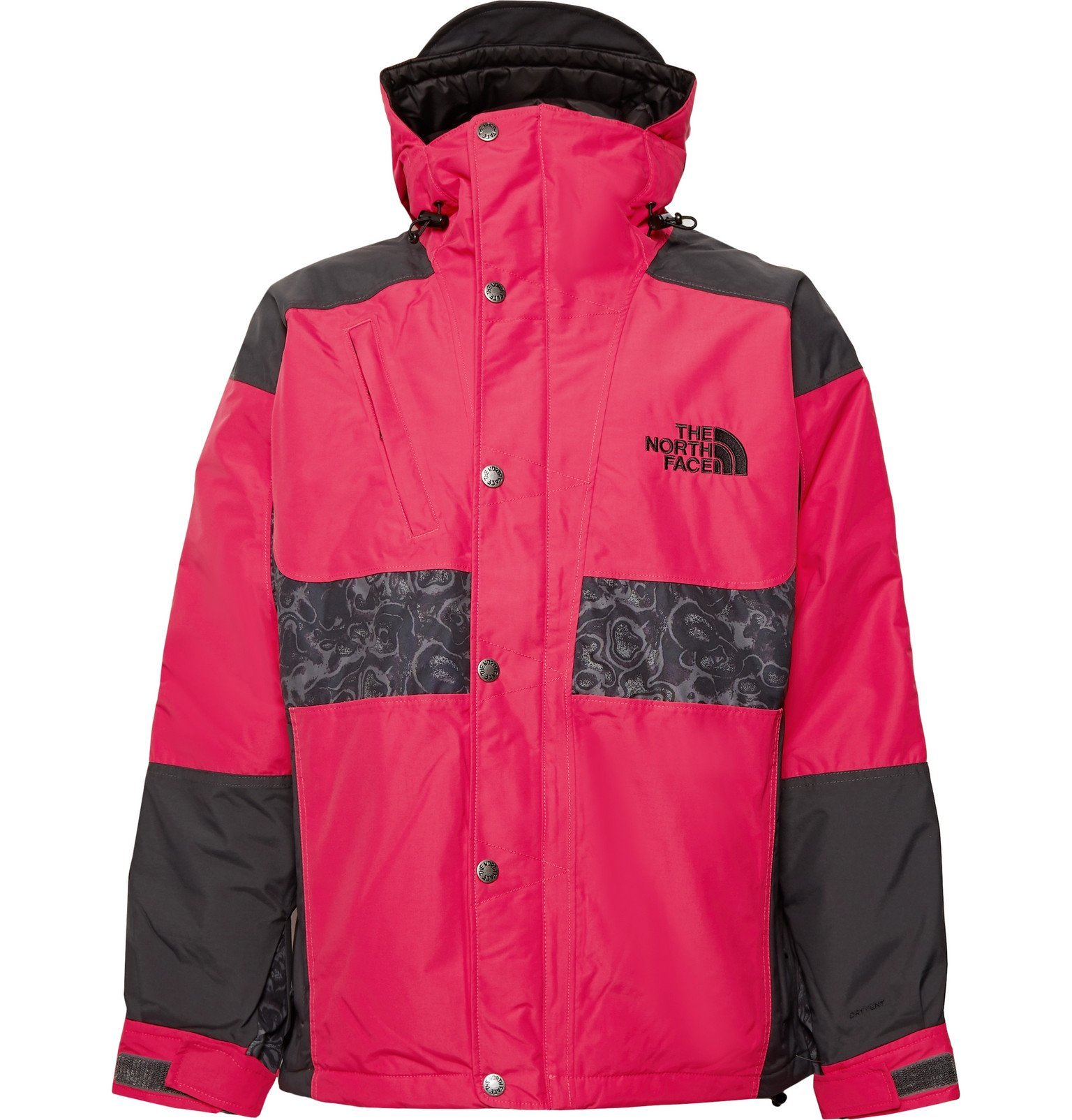 Photo: The North Face - '94 Rage Panelled DryVent 2L Hooded Jacket - Red