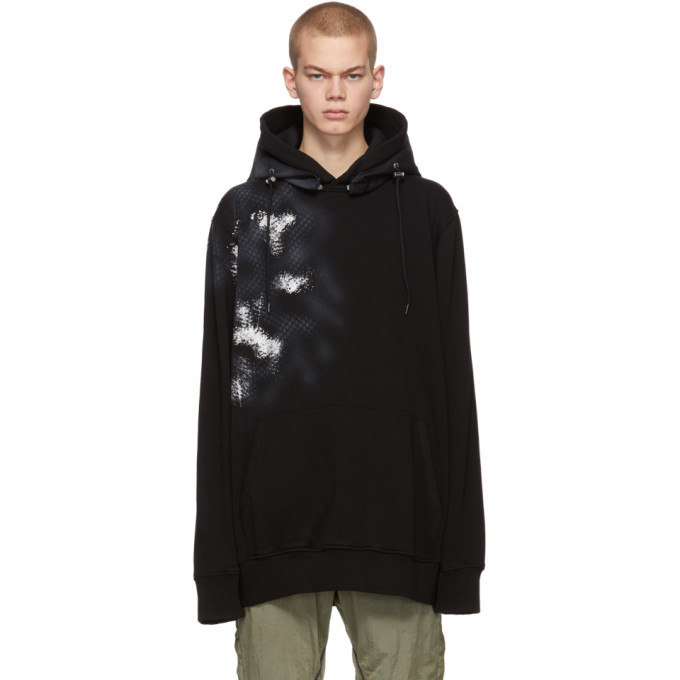1017 ALYX 9SM Black Mackintosh Edition Camo Hoodie