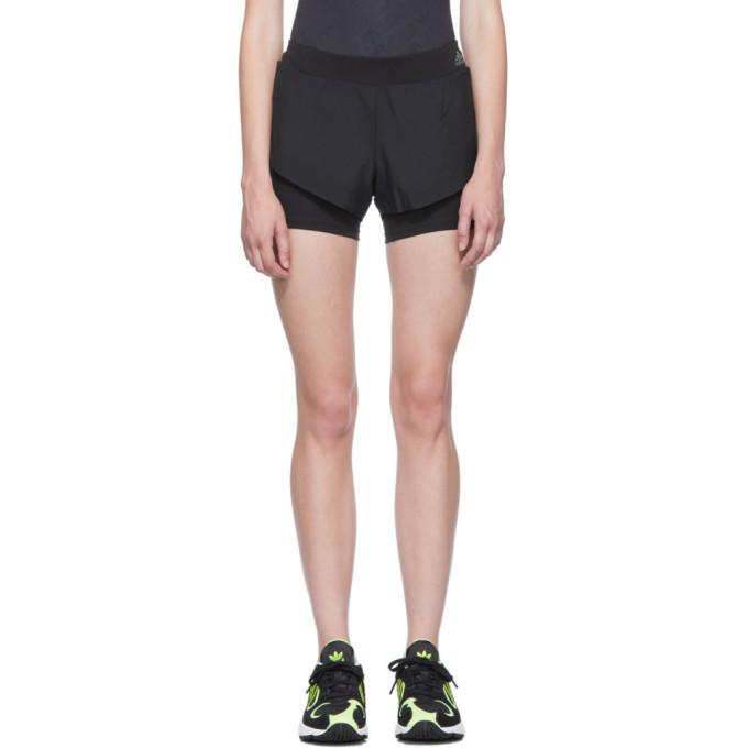 adidas Originals Black Adapt To Chaos Running Shorts