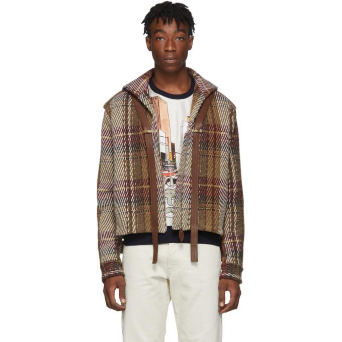 Photo: Lanvin Brown Tweed Short Jacket