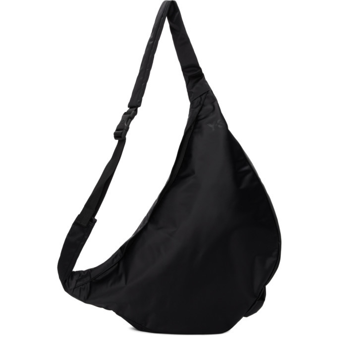 Y-3 Black Logo Sneaker Bag