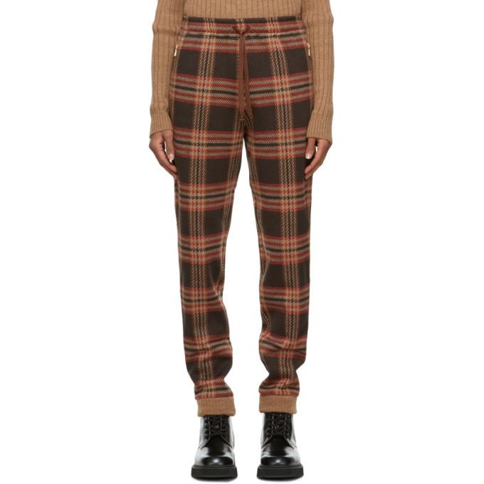 Photo: Gucci Brown Check Lounge Pants