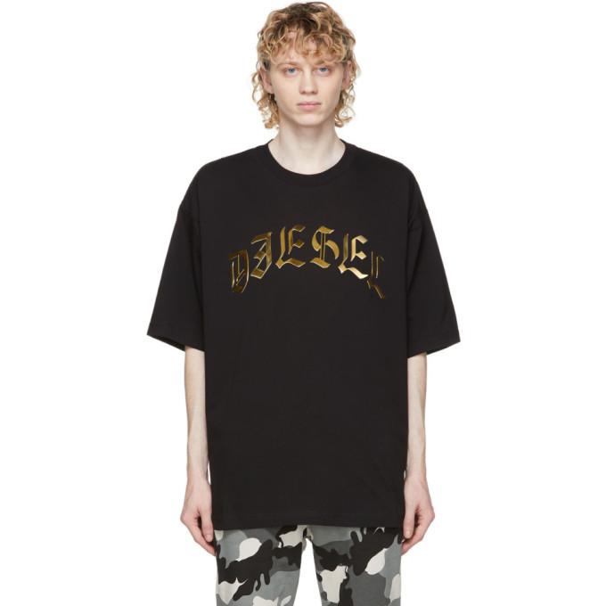Photo: Diesel Black T-Ball-A1 T-Shirt