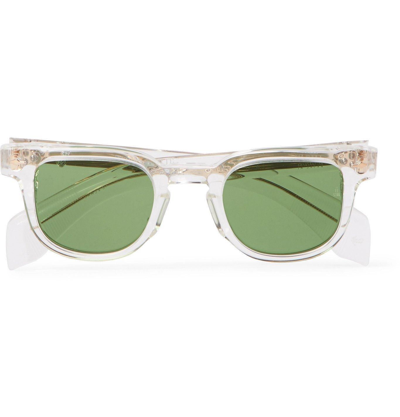 Photo: JACQUES MARIE MAGE - Jax Square-Frame Acetate Sunglasses - Neutrals