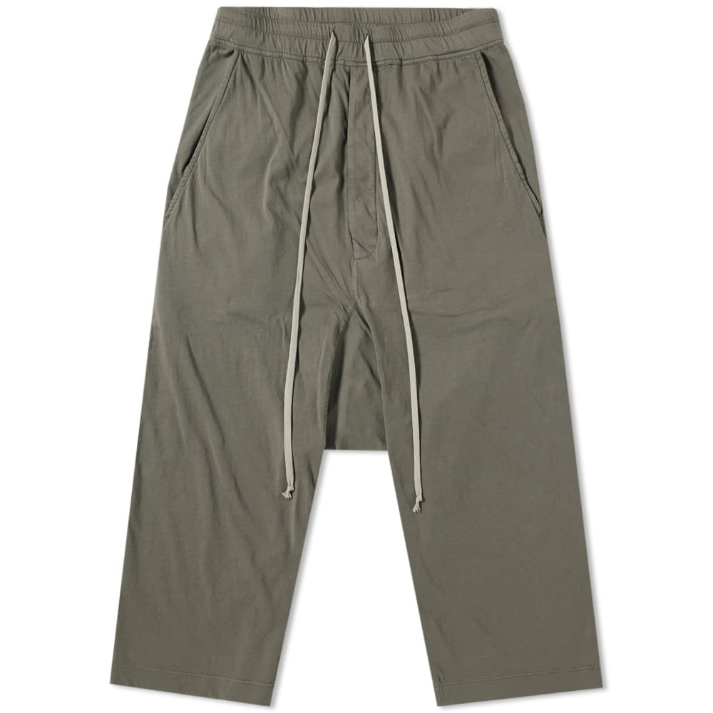 Photo: Rick Owens DRKSHDW Drawstring Cropped Pant Neutrals