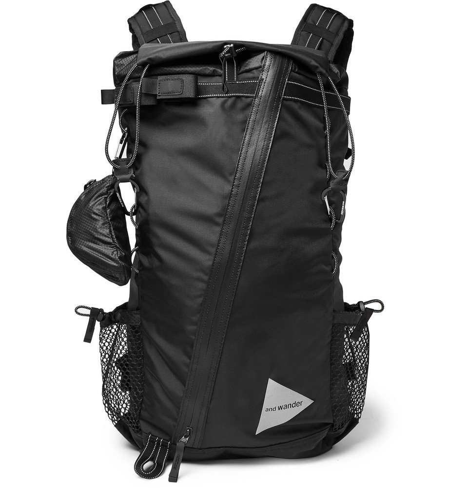 Photo: And Wander - 30L Shell Backpack - Black