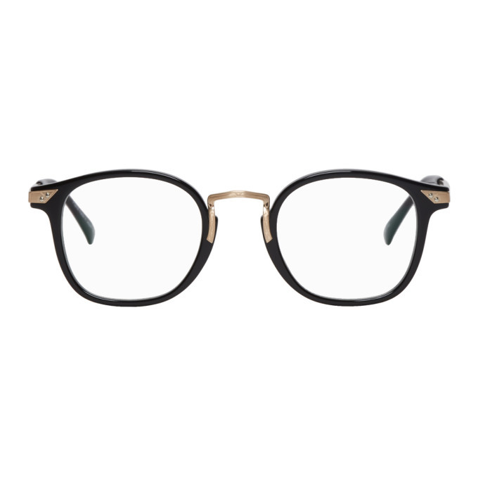 Photo: Matsuda Black and Gold 2808H Glasses