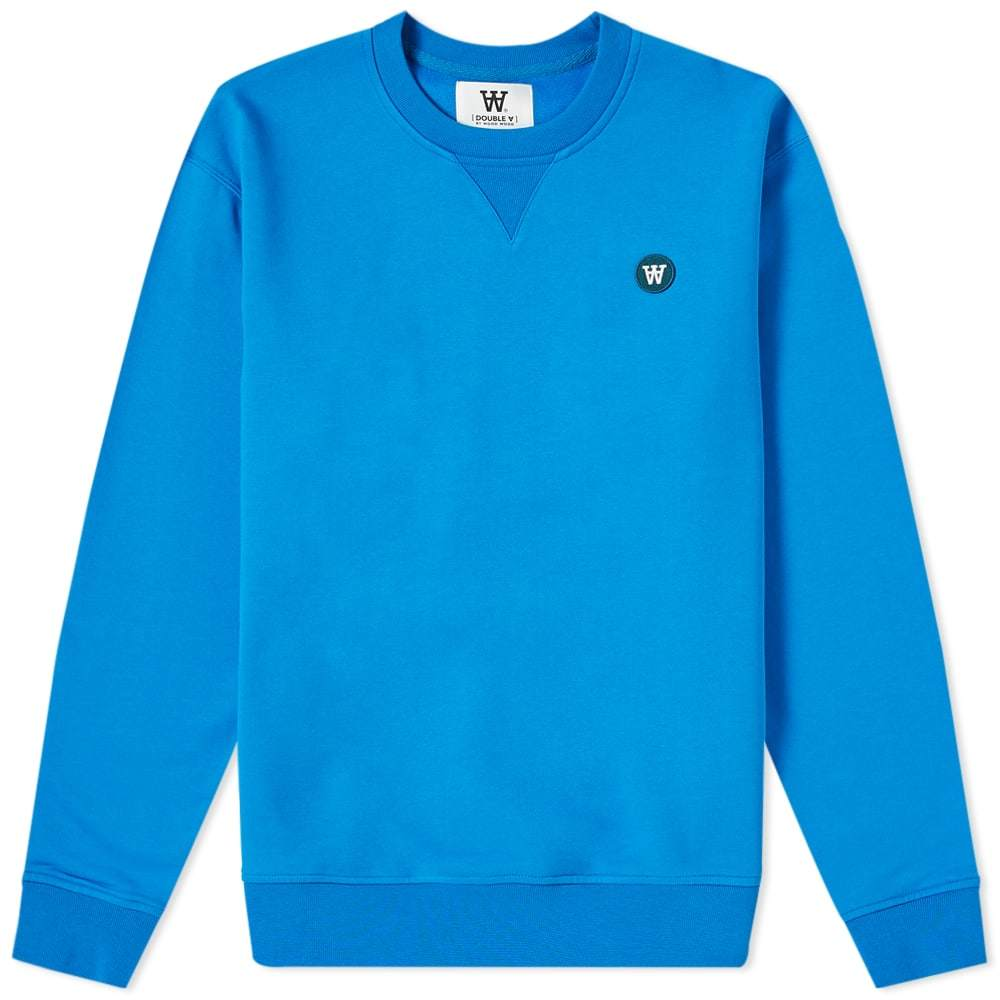 Photo: Wood Wood Tye Crew Sweat Bright Blue