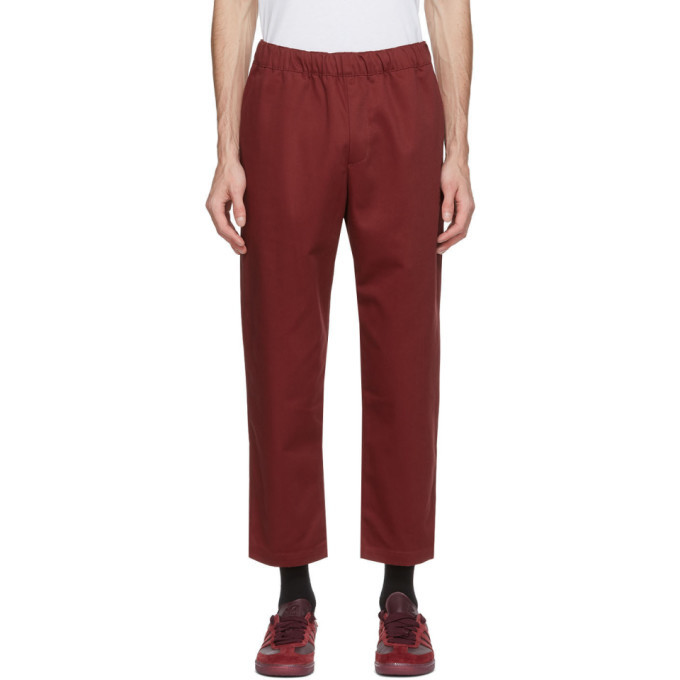 adidas Originals Red Jonah Hill Edition Chino Trousers