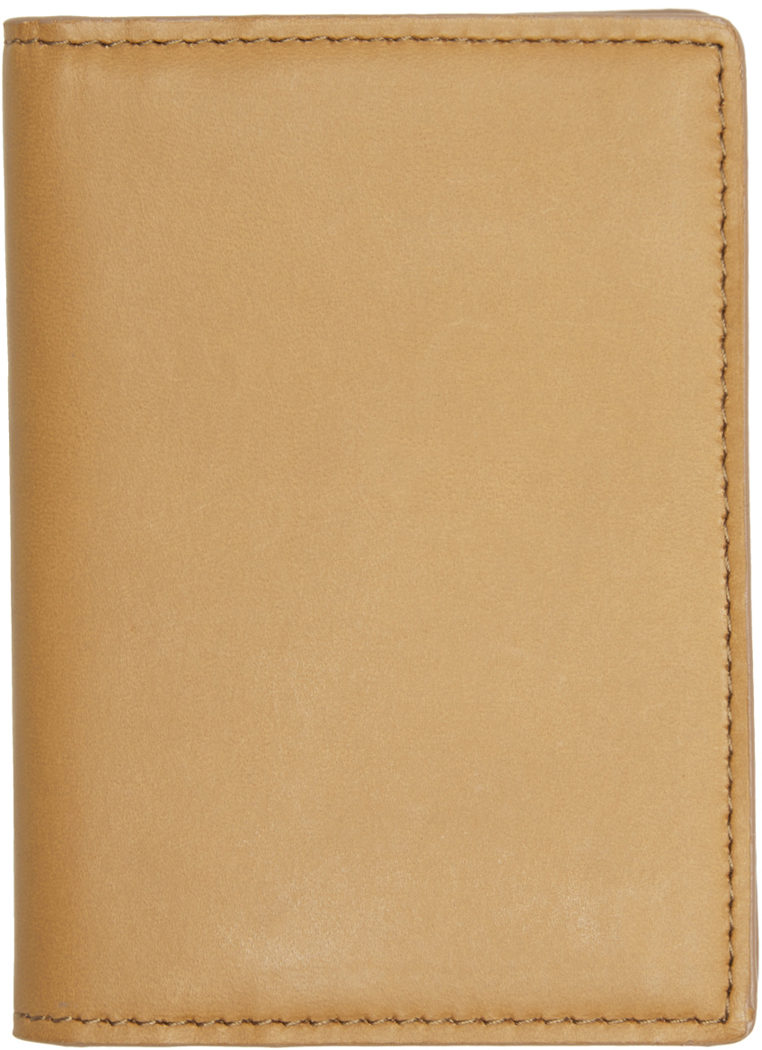 Photo: Common Projects Tan Card Holder Wallet