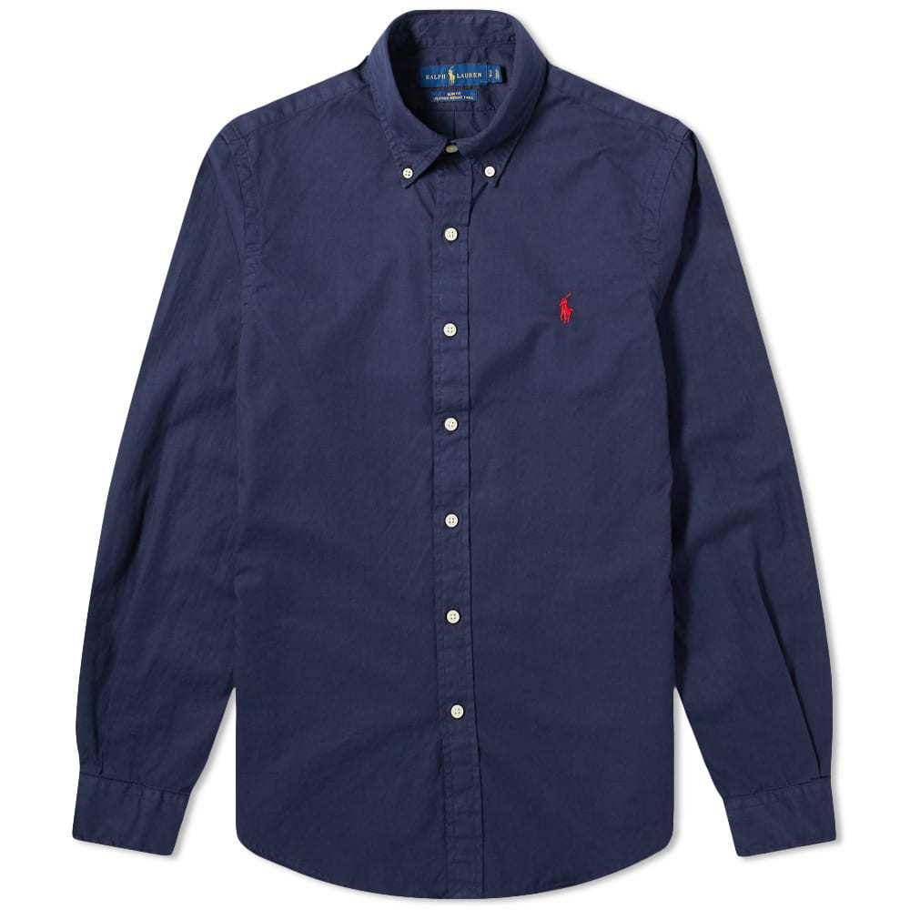 Photo: Polo Ralph Lauren Garment Dyed Button Down Shirt