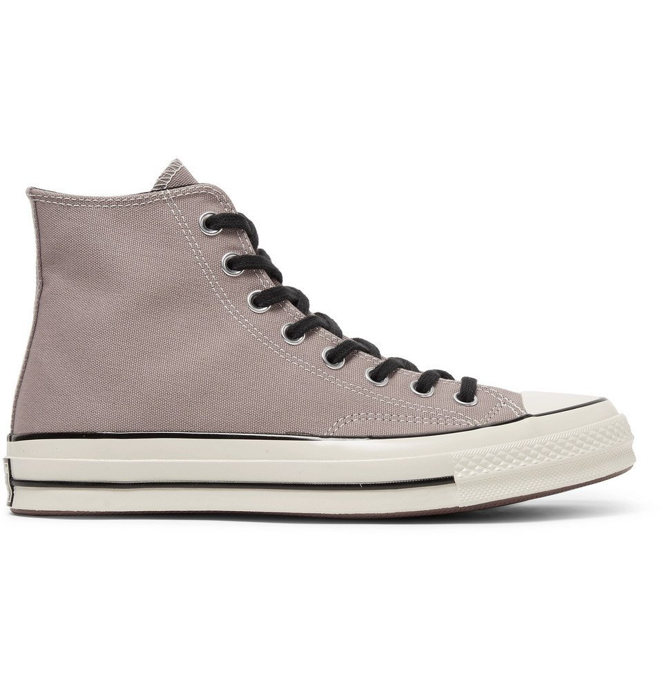 Photo: Converse - 1970s Chuck Taylor All Star Canvas High-Top Sneakers - Taupe