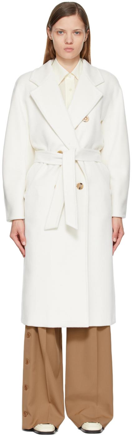 Photo: Max Mara White Madame Icon Coat