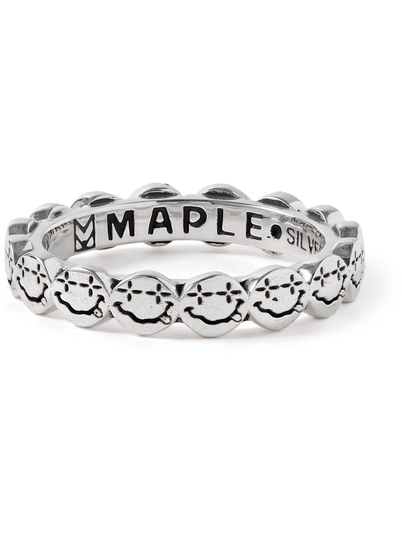 Photo: MAPLE - Nevermind Sterling Silver Ring - Silver