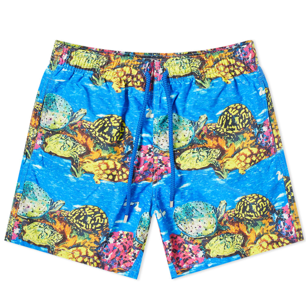 Photo: Vilebrequin Moorea Artist Reef Turtle Print Swim Short