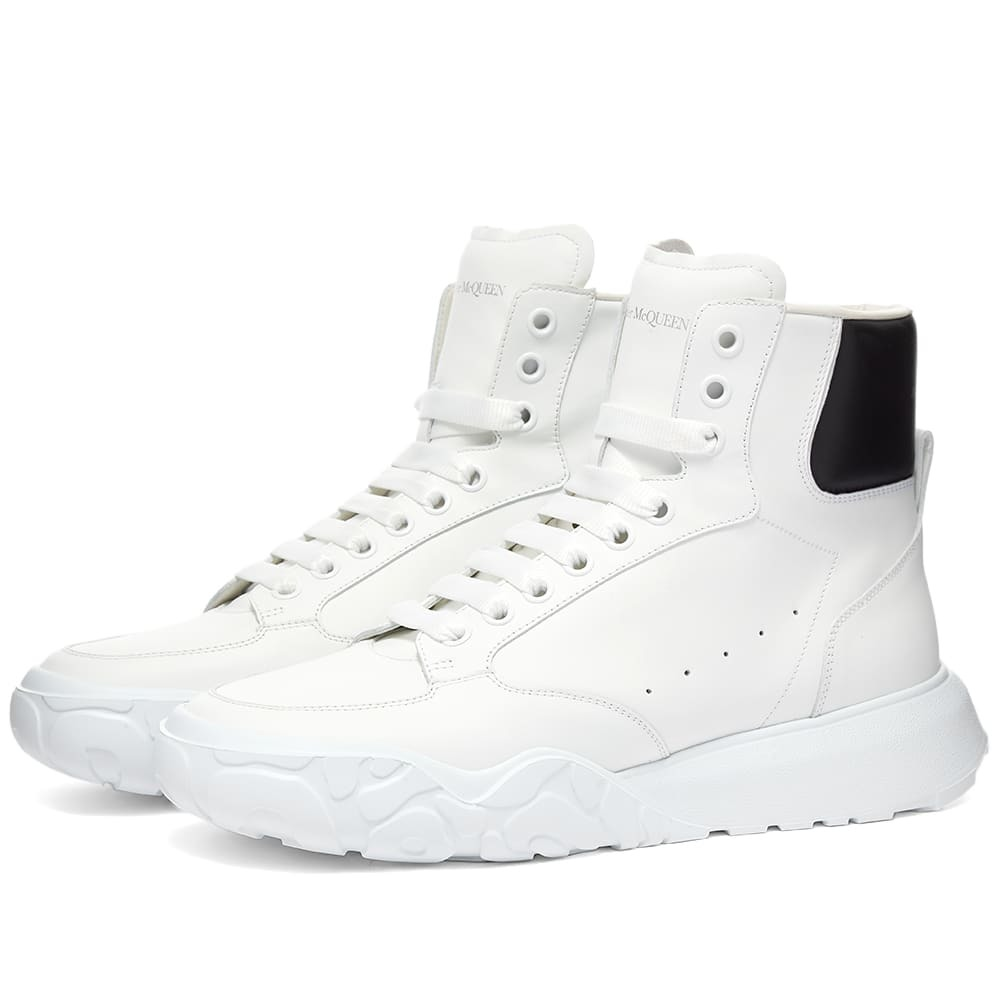 Photo: Alexander McQueen Court Mid Nappa Leather