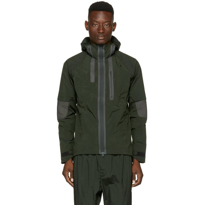 Photo: Y-3 Green Hooded Jacket