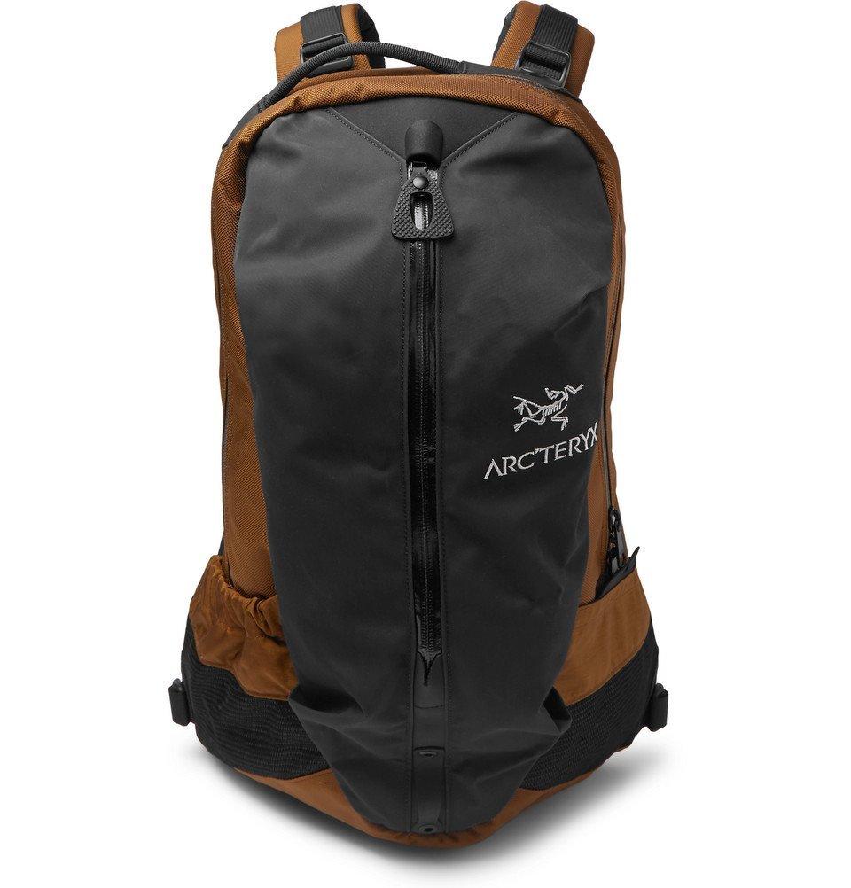 Photo: Arc'teryx - Arro 22 Nylon and Canvas Backpack - Black