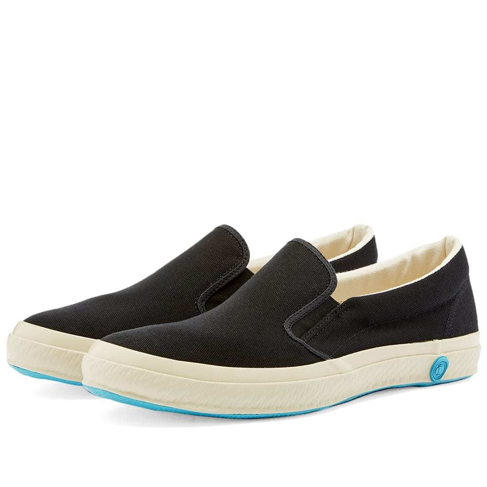 Photo: Shoes Like Pottery SLP02 JP Slip On Sneaker Black