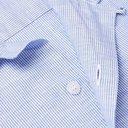 Sunspel - Cortina Camp-Collar Striped Linen and Cotton-Blend Shirt - Blue