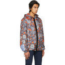 MCQ Blue and Orange Hooded Jacket