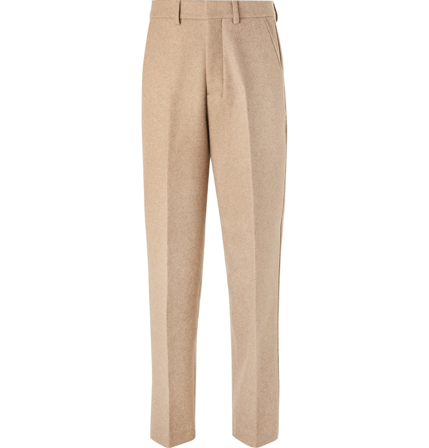 Photo: AMI - Mélange Wool-Blend Trousers - Neutrals
