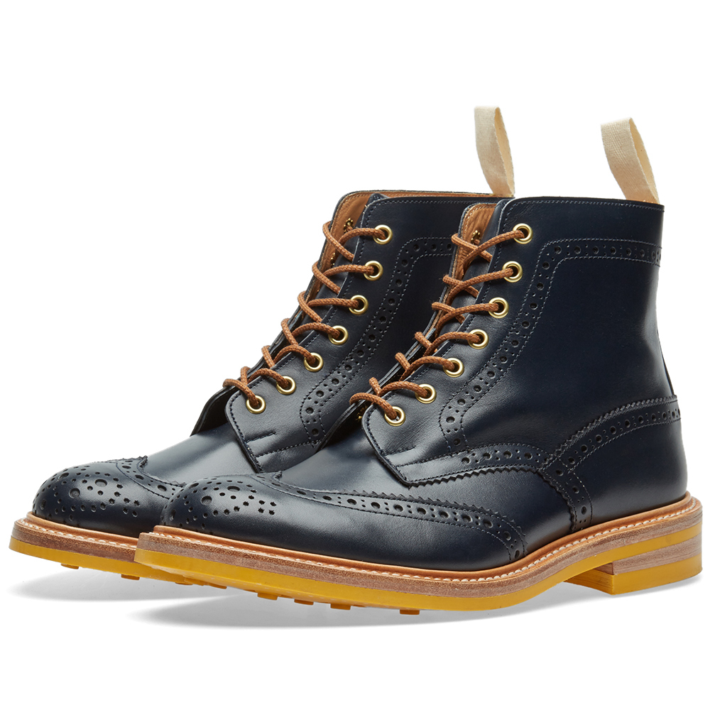 Photo: END. x Tricker's Club Sole Stow Boot