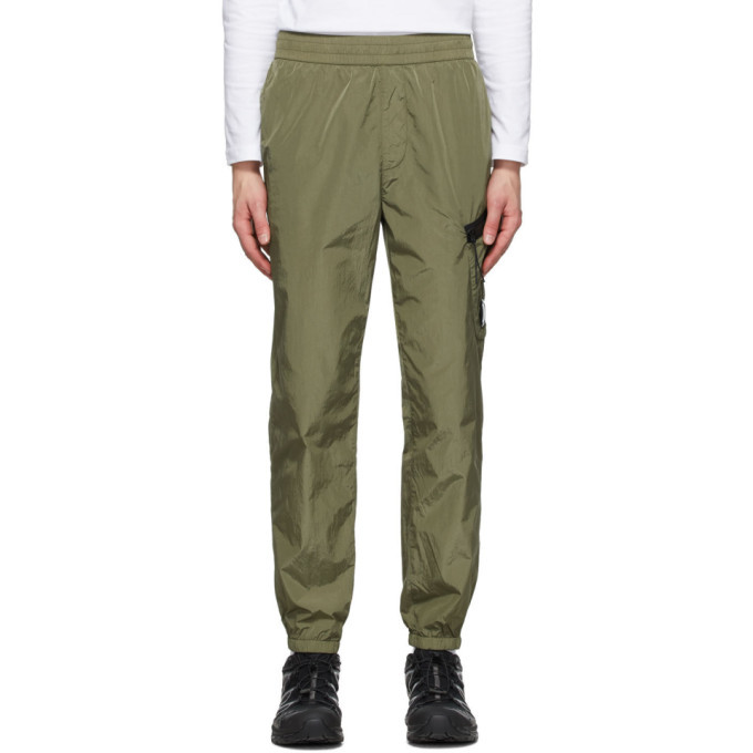 C.P. Company Green Lens Cargo Track Pants