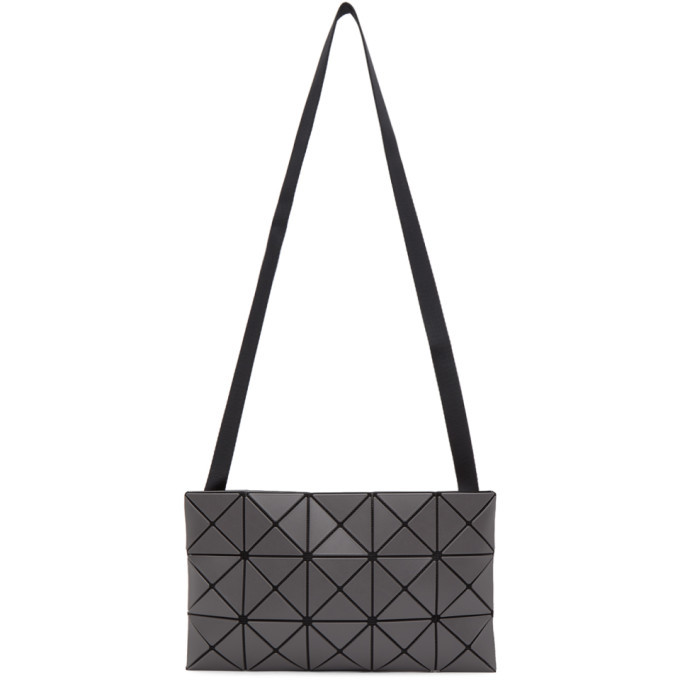 Photo: Bao Bao Issey Miyake Grey Matte Lucent Messenger Bag