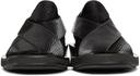 GmbH Black Snake Chappal Loafers