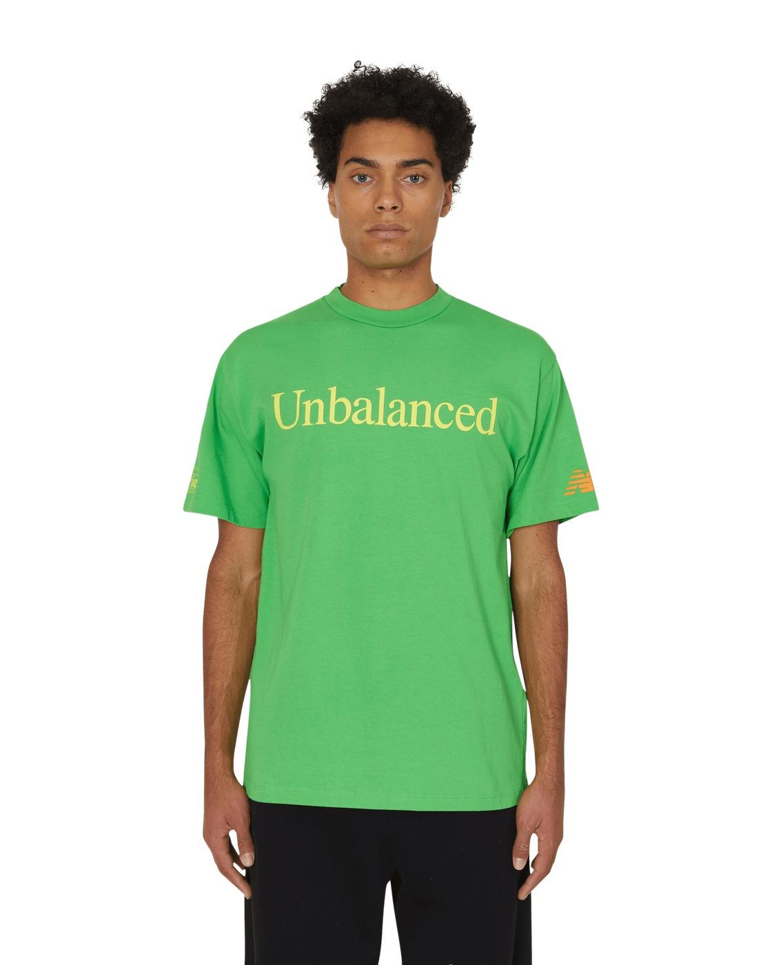 Aries Unbalanced T Shirt Green