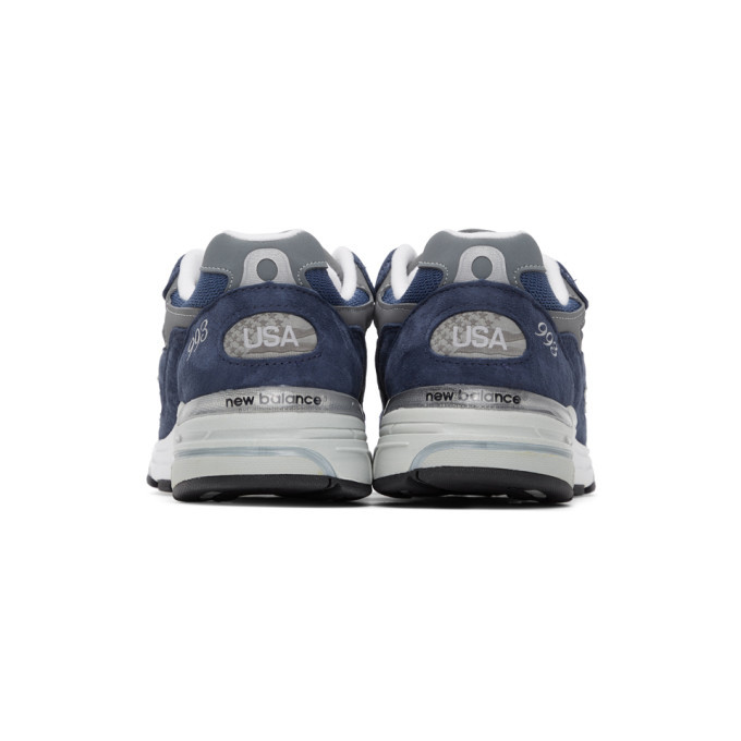 New Balance Navy US Made 993 Sneakers