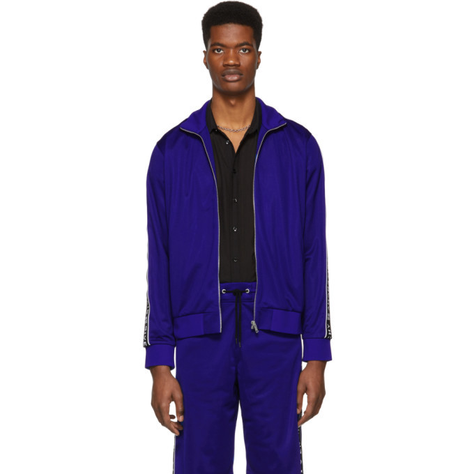 Photo: Givenchy Blue 4G Track Jacket