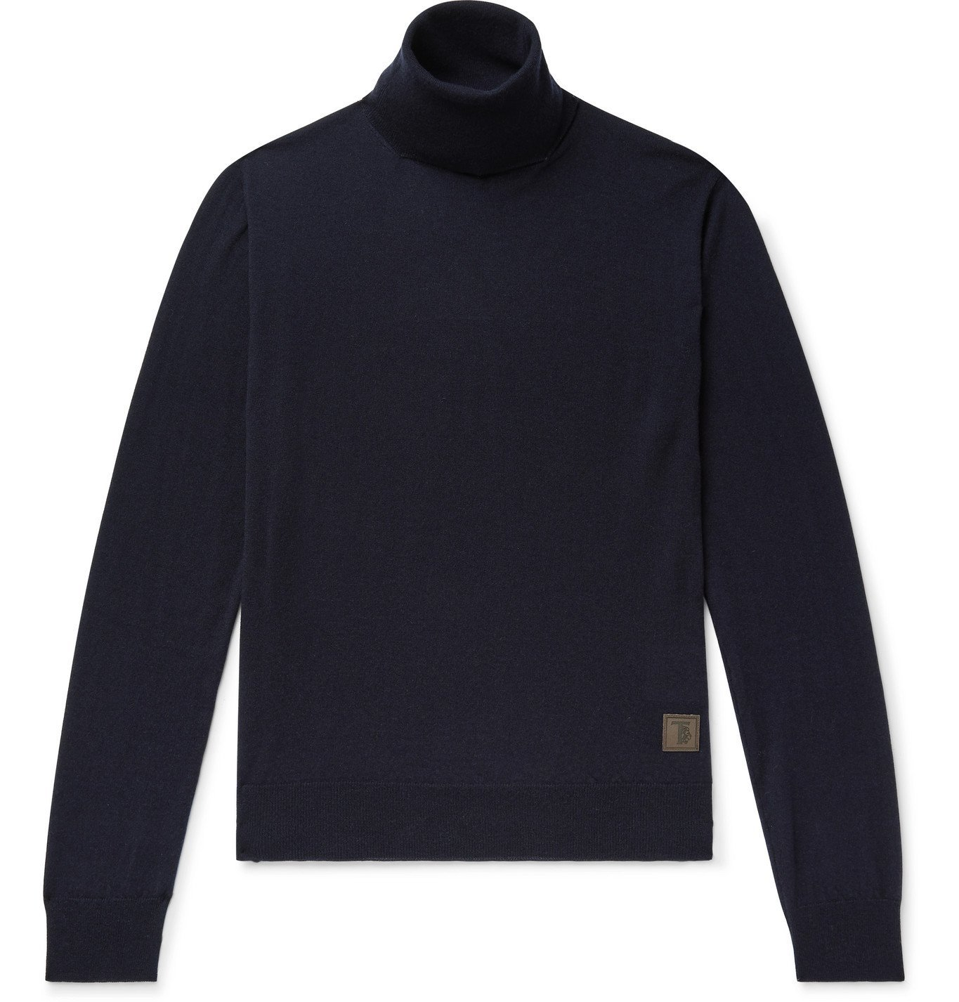 Photo: Tod's - Cashmere Rollneck Sweater - Blue