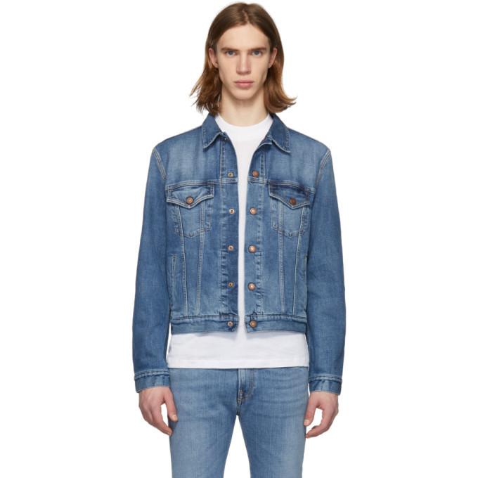 Photo: Jeanerica Blue Organic Denim M001 Jacket