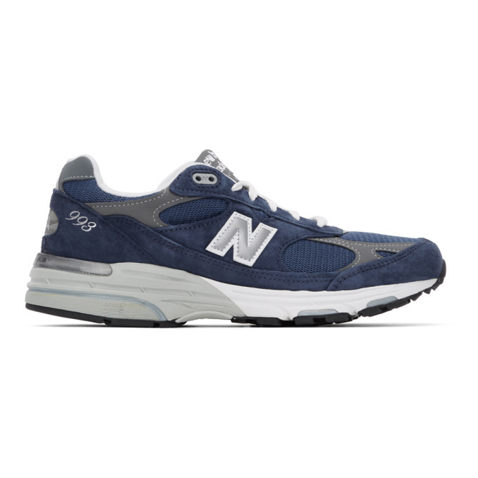 Photo: New Balance Navy US Made 993 Sneakers