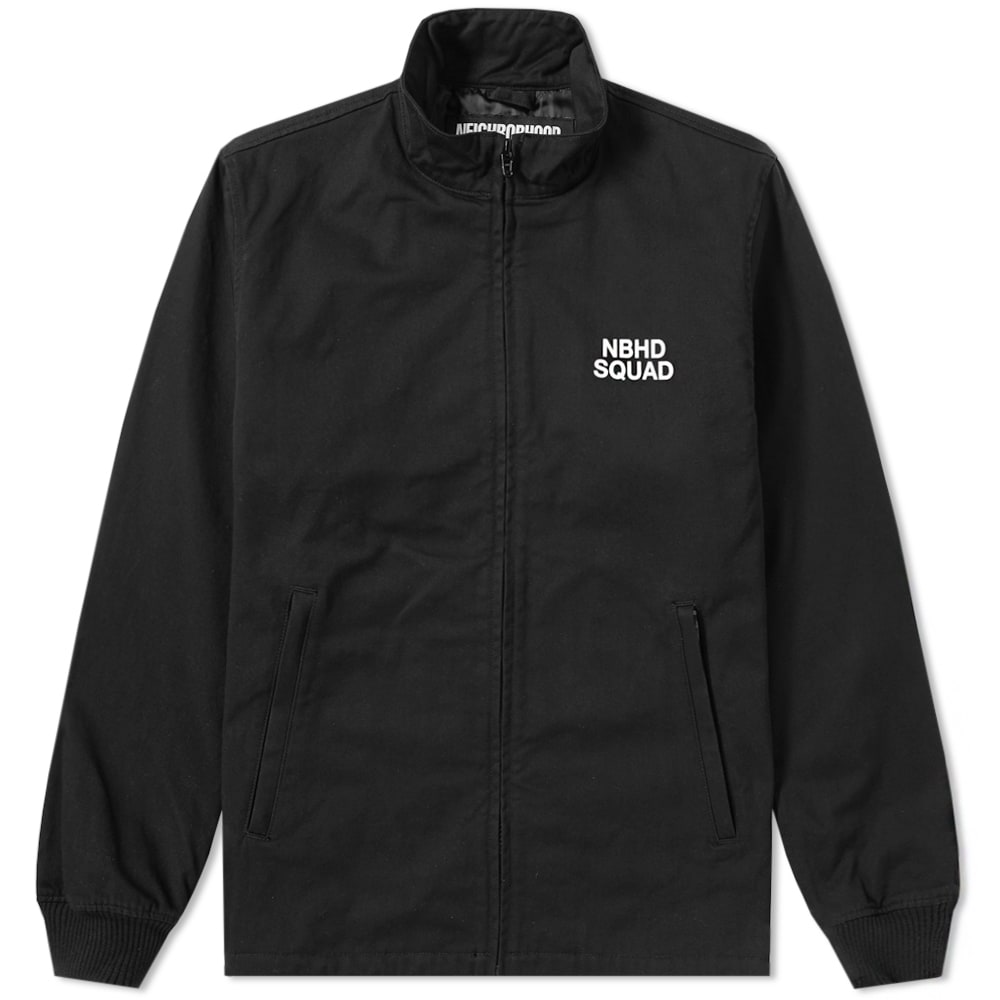 Photo: Neighborhood Squad Jacket Black