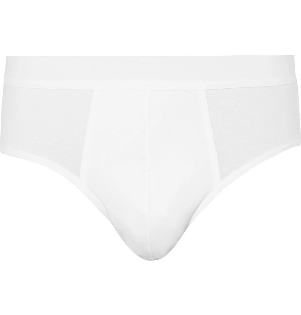 Photo: Acne Studios - Harald Stretch-Cotton Briefs - White