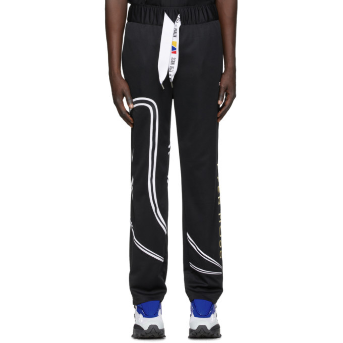 Photo: Reebok by Pyer Moss Black Vintage Lounge Pants