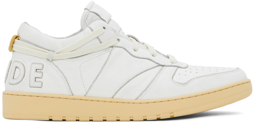 Photo: Rhude White Rhecess Low Sneakers