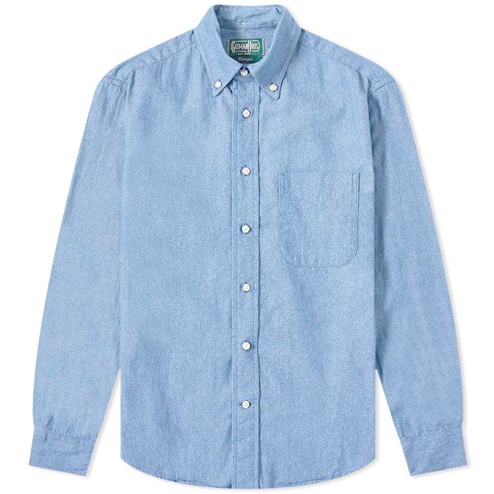 Photo: Gitman Vintage Button Down Chambray Shirt