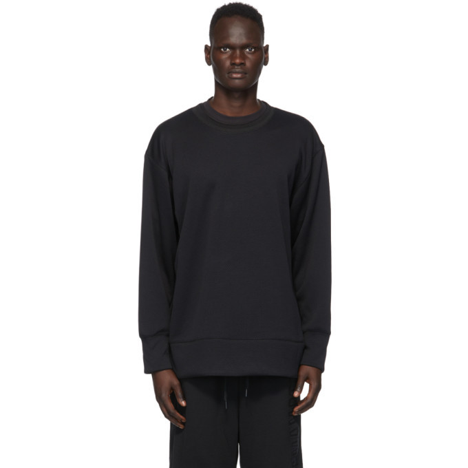 Photo: Y-3 Black Mesh CH2 GFX Sweatshirt