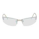 GmbH Silver Iridescent Halcyon Sunglasses