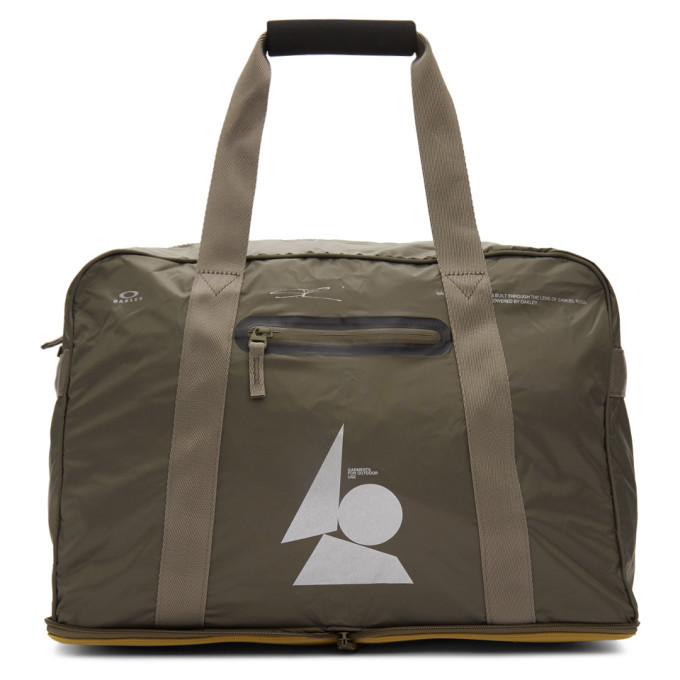 Photo: Oakley by Samuel Ross Taupe Packable Duffle Bag