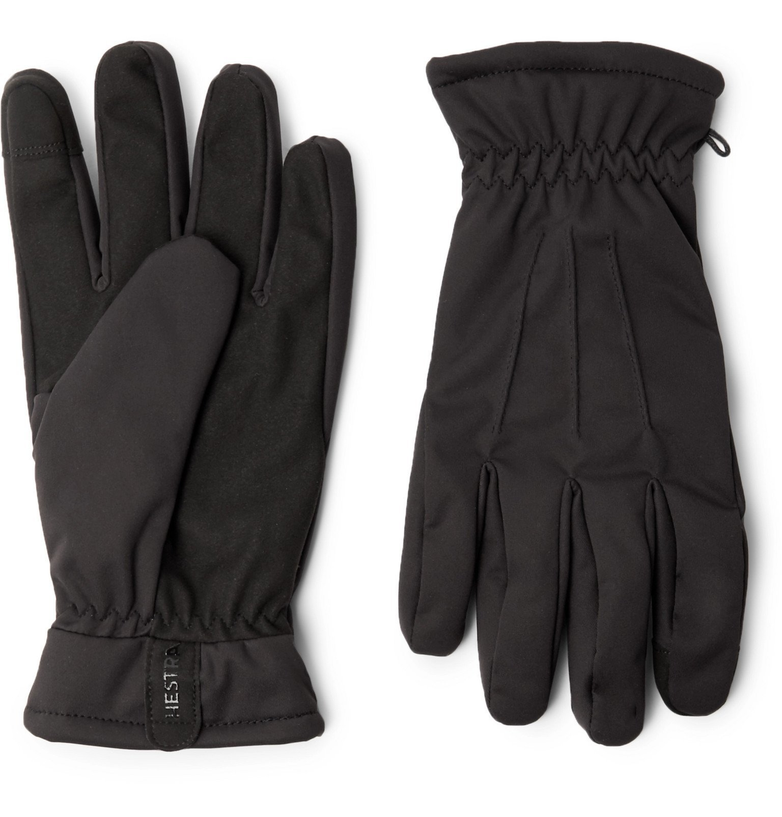Photo: Hestra - Duncan Touchscreen Fleece-Lined Shell Gloves - Black