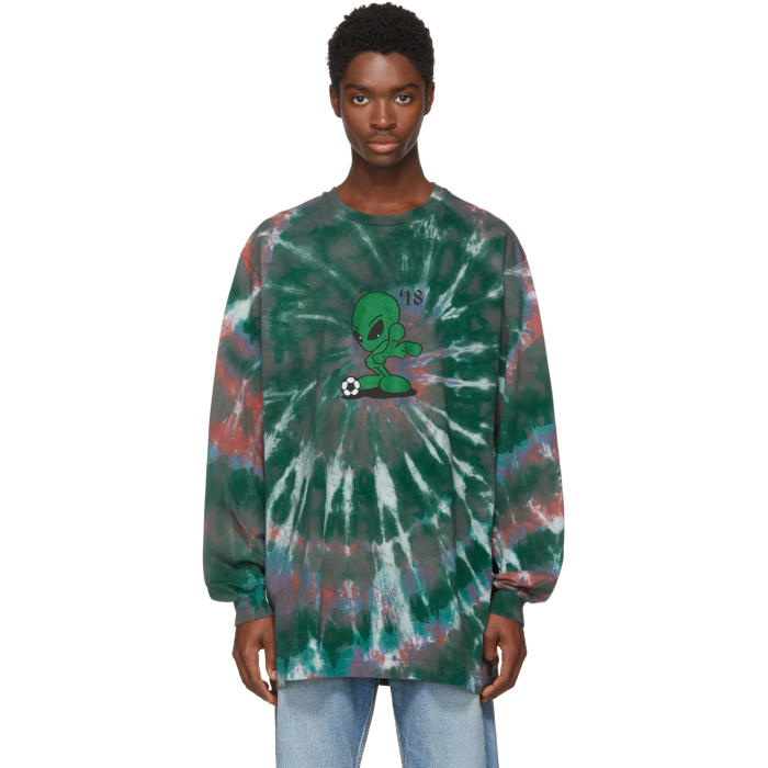 Photo: Gosha Rubchinskiy Multicolor Alien Tie-Dye T-Shirt