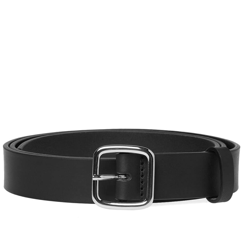 Photo: Comme des Garcons SHIRT Plain Leather Belt