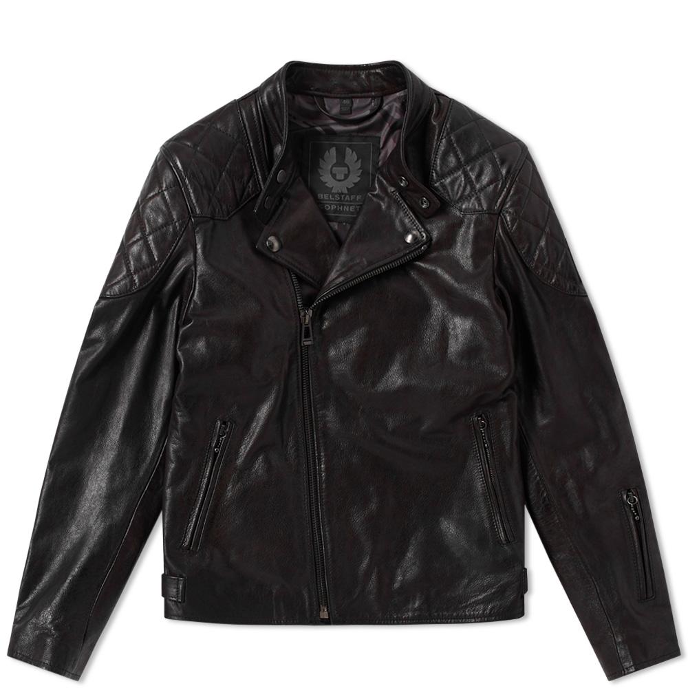 Belstaff x SOPHNET. Leather Rebel Jacket