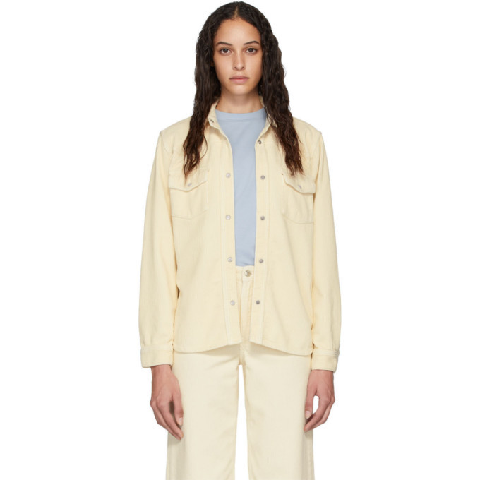 Photo: Won Hundred Off-White Corduroy Pernilla Jacket